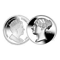 Queen Victoria Silver - Ultra High Relief Coin
