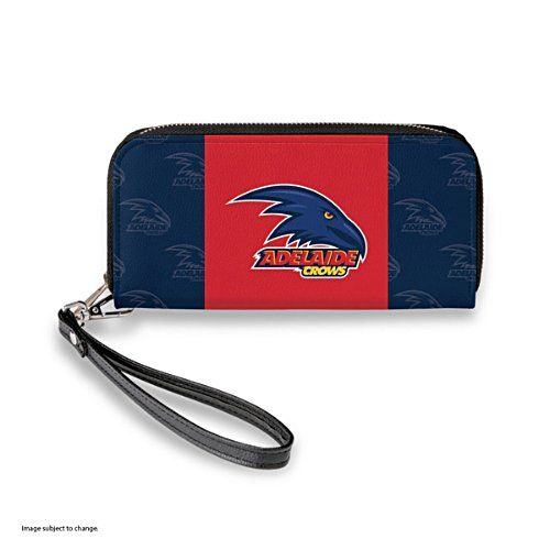 Adelaide Crows Women's Faux Leather Clutch Wallet