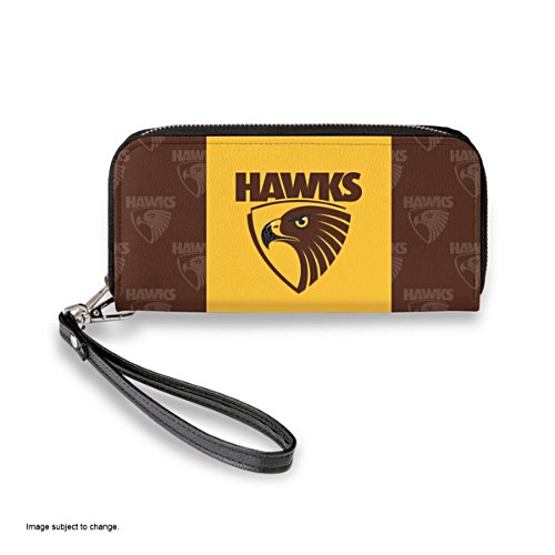 Hawthorn Hawks Women's Faux Leather Clutch Wallet