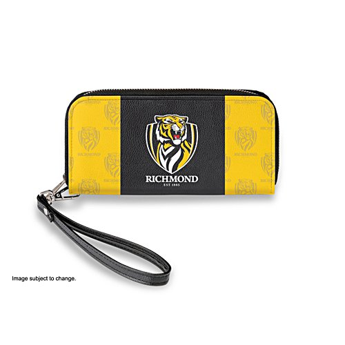 Richmond Tigers Women's Faux Leather Clutch Wallet