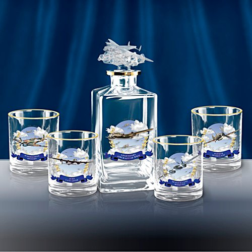 Heroes of the Sky Decanter Set