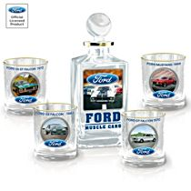 Ford Muscle Decanter Set