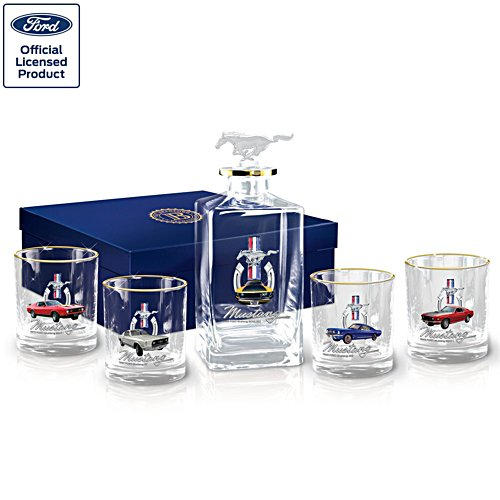 Officially licensed Ford Mustang Decanter Set