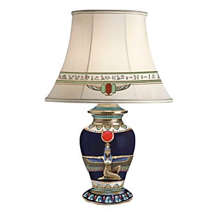 Egyptian Goddess Table Lamp