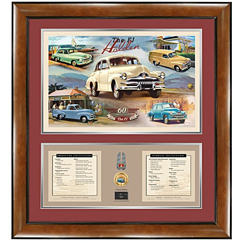 Holden FJ 60th Anniversary Print
