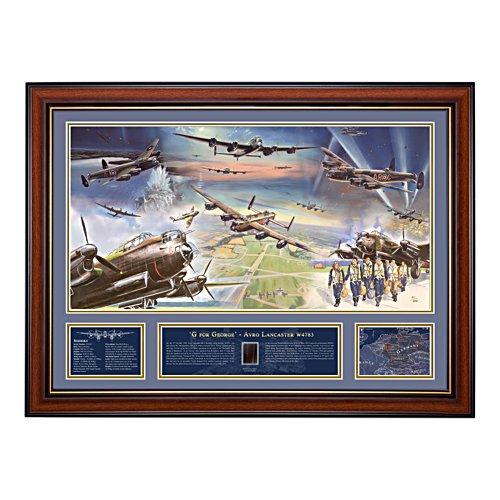 G for George Avro Lancaster Print