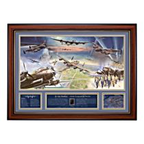 G for George Avro Lancaster Print