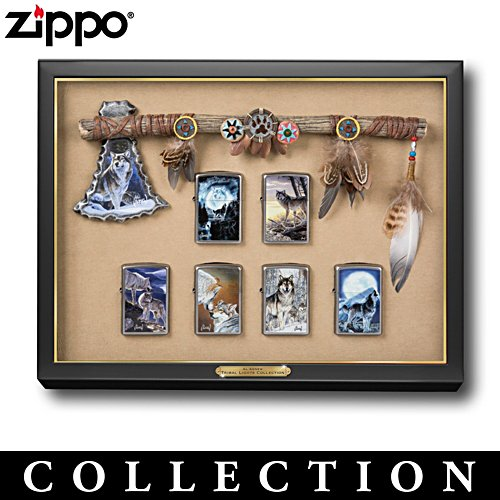 Wolf Zippo® Lighter Collection with Display