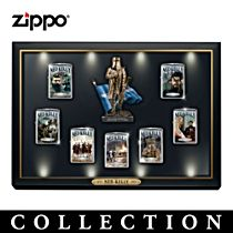 Ned Kelly Zippo® Lighter Collection with Display