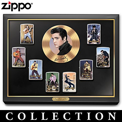 Elvis™ Zippo® Lighter Collection with Display