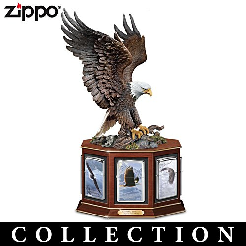 Eagle Art Zippo® Lighter Collection with Display