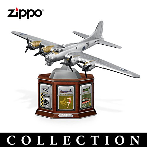 Greatest Aircraft of World War II Zippo®  Lighter Collection with Display