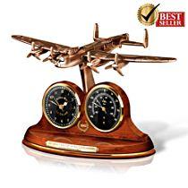 70th Anniversary Lancaster Desk Clock