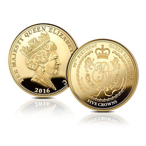 Queen Elizabeth II 90th Birthday Five Crown Coin