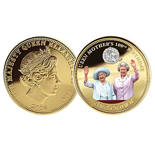 Queen Mother's 100th Birthday Coin