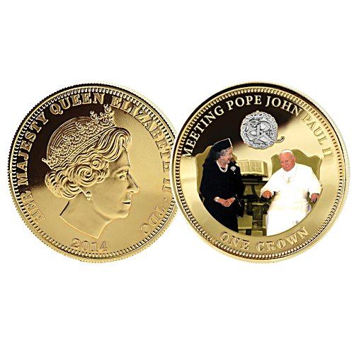 Meeting Pope John Paul II Coin