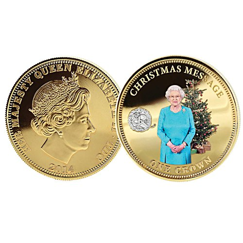 Christmas Message Coin