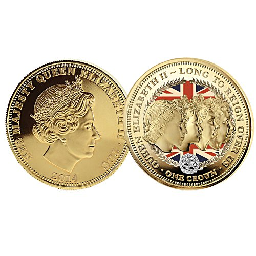 'Crowning Moments Of Queen Elizabeth II' Coin Collection