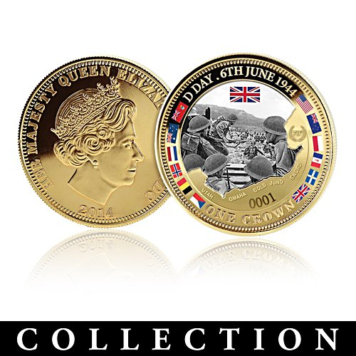 'The 70th Anniversary D-Day Commemorative Coin Collection'