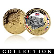 'The 70th Anniversary D-Day Coin Collection'