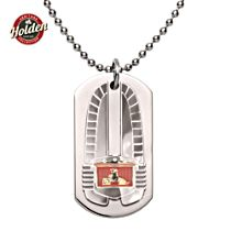 Classic Era of Holden Men's Stainless Steel Dog Tag