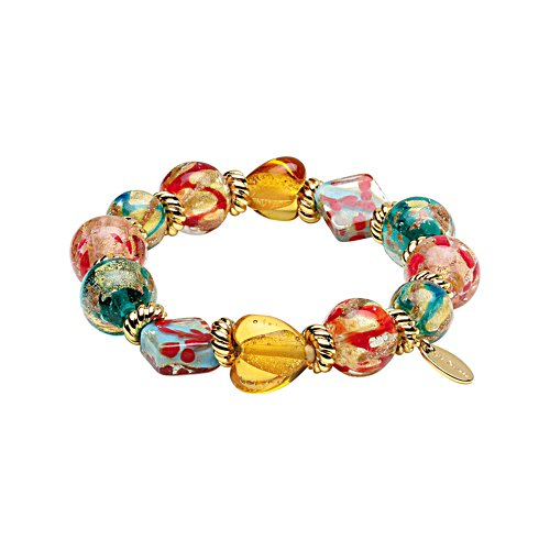Sunburnt Country Bracelet with Hand-Made Beads
