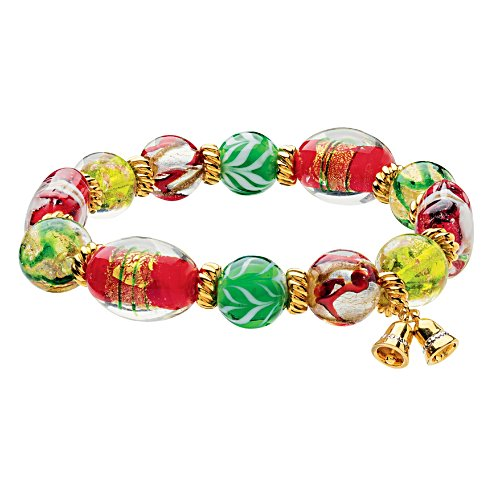 Colours of Christmas Murano-style Bracelet