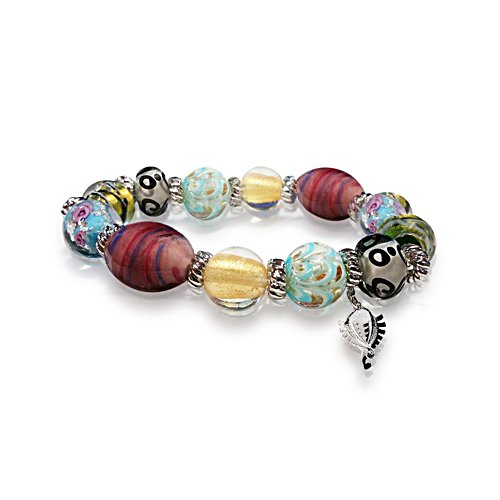 Colours Of New Zealand Murano-Style Bracelet