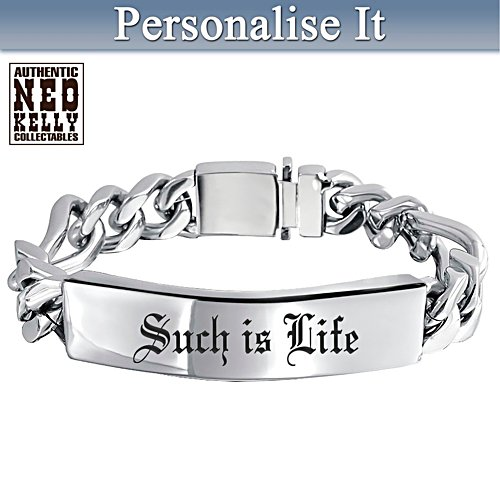 Ned Kelly Personalised Wristband