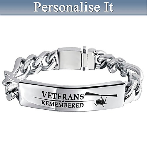 Veterans Remembered Personalised Wristband