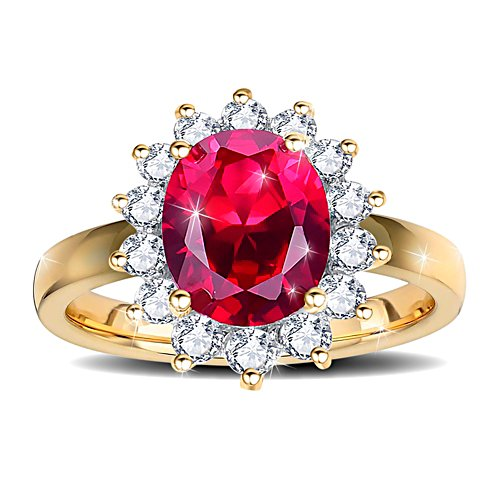 "Hollywood ""Has to Be Perfect"" Glamour Diamonesk® Ring"