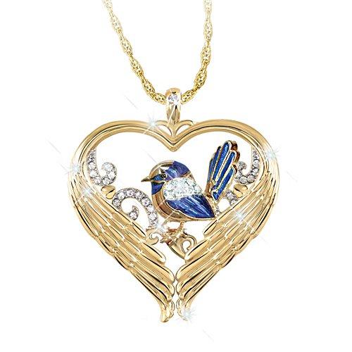 Fairy Wren 'Messenger Of Love' Bereavement Pendant