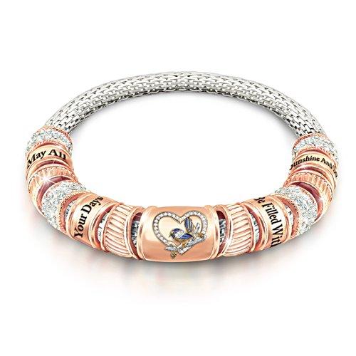 Fairy Wren Copper Soothing Bracelet