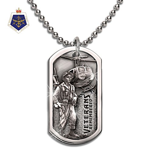 Veterans Remembered Dog Tag