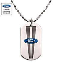 Ford Stainless-Steel Men's Dog Tag