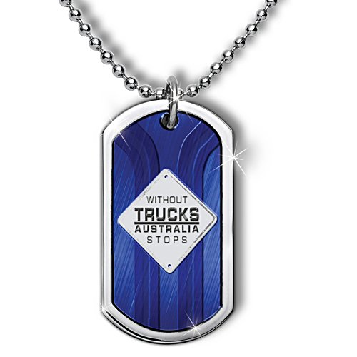 Trucking Australia Dog Tag