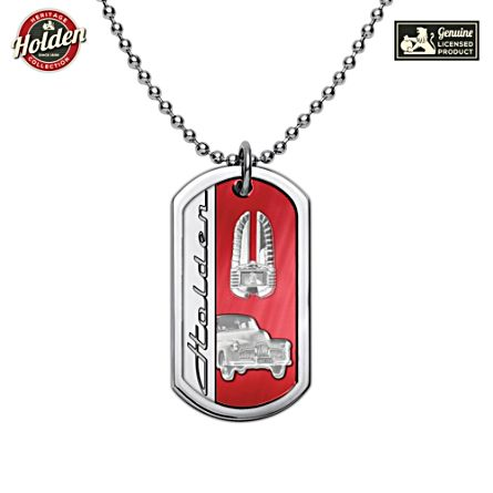 Holden 70th Anniversary Dog Tag