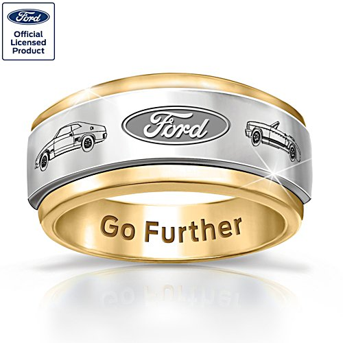 Ford Go Further Men's Spinning Ring
