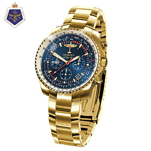 Heroes of the Sky 80th Anniversary of the Battle of Britain Gold Watch