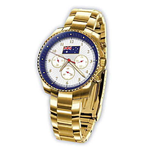 Advance Australia Men's Gold Watch