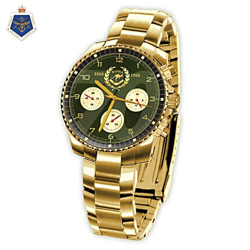 70th Anniversary of the War in Korea Gold Watch
