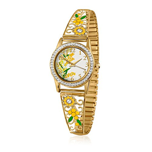 Australian Beauty Wattle Ladies Watch