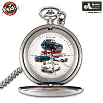 Legendary Holden Men's Pocket Watch with FREE Leather Belt Pouch and Presentation Box