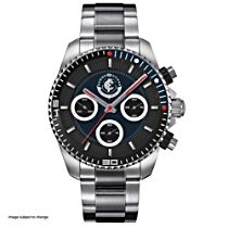 AFL Carlton Blues Men's Stainless Steel Watch