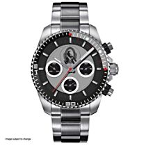 AFL Collingwood Magpies Men's Stainless Steel Watch