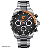 AFL Greater Western Sydney Giants Men's Stainless Steel Watch