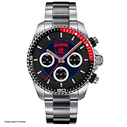 AFL Melbourne Demons Men's Watch