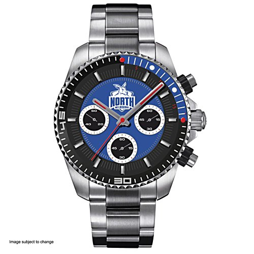 AFL North Melbourne Football Club Men's Watch