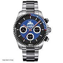 AFL North Melbourne Football Club Men's Stainless Steel Watch