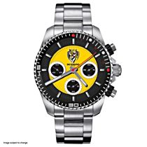 AFL Richmond Tigers Men's Stainless Steel Watch